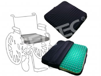 GSC-003-1 Transparent Massage Gel Foam Seat Cushion